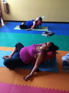 Prenatal Baddha Konasana